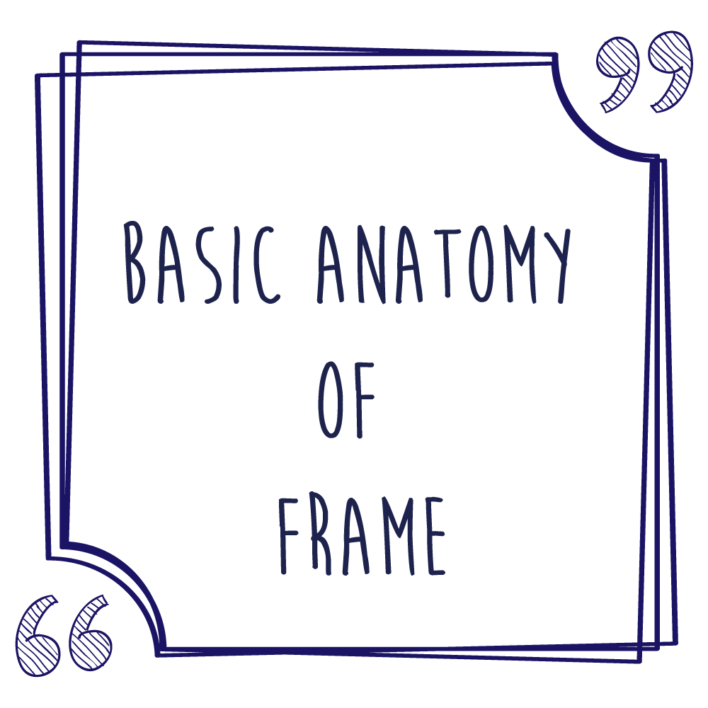 Basic Anatomy of Frame