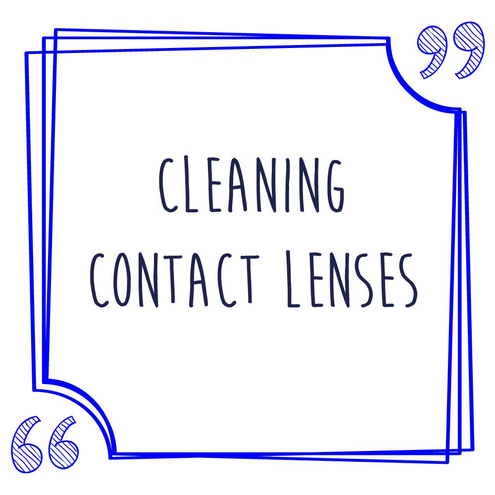 Cleaning Lenses